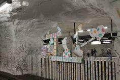 metro art stockholm - Google Search Stockholm Metro, Fair Grounds, Google Search, Fun, Hilarious
