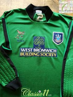 7cd4d61854d 1997/98 West Bromwich Albion Goalkeeper Football Shirt / Old Jersey |  Classic Football Shirts