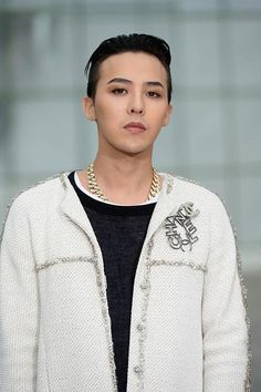 G-Dragon | Chanel Haute Couture Show in Paris