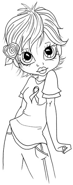 Saturated canary on Pinterest | Digi Stamps, Coloring and Colouring Pages