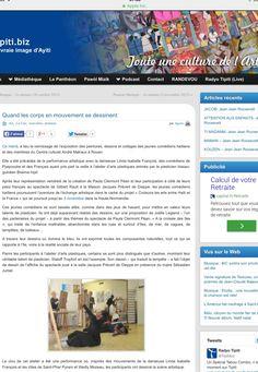 Article sur le partenariat avec Haïti