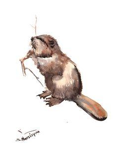 Beaver Plakaty autor Suren Nersisyan w AllPosters.pl