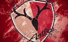 Kashima Antlers, Ibaraki, Desktop Pictures, Art Logo, Grunge Fashion, Football Team, Burgundy, Japanese, Grunge Style