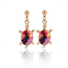 Jewelry - Colorful Turtle Earrings Colorful