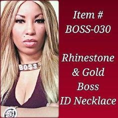 BOSS-030 ($20) Order by Email: IDRegalia.RoyalJewels@gmail.com