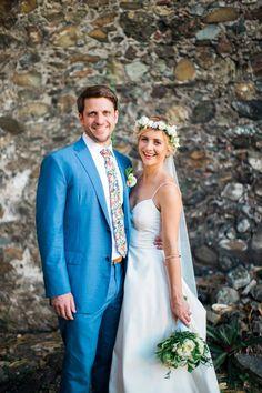 wedding couple Wedding Matches, Wedding Looks, Wedding Groom, Bridal Looks, Wedding Suits, Wedding Attire, Wedding Couples, Wedding Dresses, Simple Flower Crown