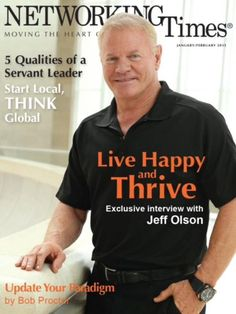 Congratulations to Nerium's CEO and Founder, Jeff Olson, for being featured on the cover of Networking Times!