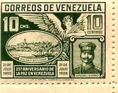 Correos de Venezuela,estampilla de 1903