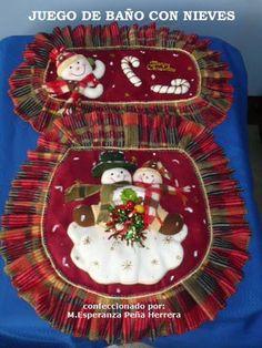 vestido navideño #decoraciondebaños