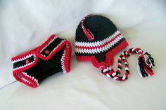 Texas Tech baby hat and diaper cover newborn by conniemariepfost, $40.00