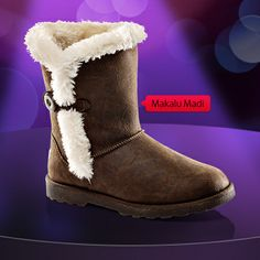 Women's Makalu Madi at Shoe Carnival. Very fashionable. Can wear with skinny jeans or a sweater dress and stockings! Ugg Boots, Shoe Boots, Shoe Carnival, Brown Shoe, Dance Moms, Me Too Shoes, Uggs, Bright Ideas, Style Me