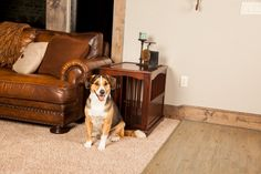 Dog Crate Furniture, Crates, Dogs, Animals, Animales, Animaux, Pet Dogs, Doggies, Animal