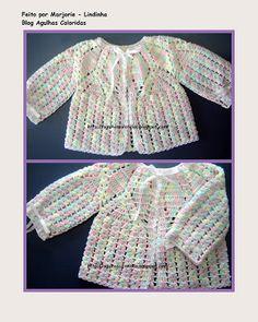 ★★ Batita bebé crochet.