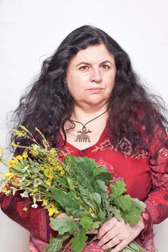 """Enchanting Photos Capture The Modern-Day Witches And Healers Of Poland Katarzyna, an herbal healer, from """"Women of Power"""" series. Courtesy of the artist and Porter Contemporary Gallery"""