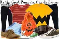It's the Great Pumpkin, Charlie Brown!  *DisneyBound is aware this is not Disney. Happy Halloween!