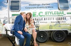 How dapper is this couple? Our E.C. Stylebar mobile beauty lounge is the perfect backdrop for their photo-op. ✌🏼#summerlovin . . Have an event coming up that you would like to see us at? Let us know in the comments! . . . . 📸 @jdixxphotography #ranchosantafelocals #sandiegoconnection #sdlocals #rsflocals - posted by Elwynn & Cass  https://www.instagram.com/ecstylebar. See more post on Rancho Santa Fe at http://ranchosantafelocals.com