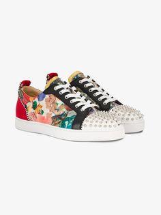 Christian Louboutin Louis Trash Print Sneakers