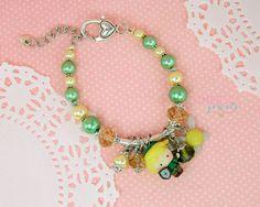 Zelda bracelet Zelda jewelry Link bracelet Link by GambizzleJewels