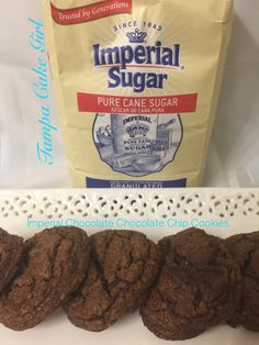 I am so thrilled to be able to participate in #Choctoberfest2016. Thank you Imperial Sugar for sugar and making my cookies a sweet treat. Ingredients: 2 cups all purpose flour 1 teaspoon baking sod…
