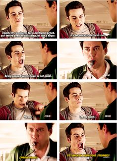 Teen Wolf - Stiles & Coach, everyone has had that teacher!