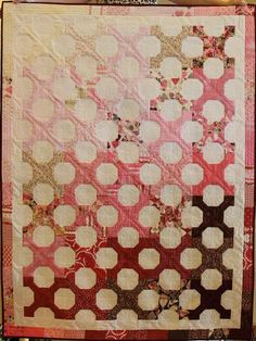 Hugs 'n Kisses is perfect for Valentine's Day or year round! Learn how to make this quilt from start to finish.