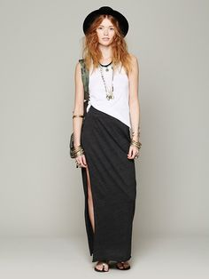 Free People High to the Thigh Skirt, 88.00