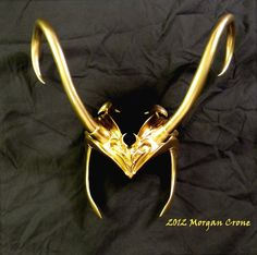 Lady Loki Headdress by ~MorganCrone on deviantART My diadem might be the more famous than I am.
