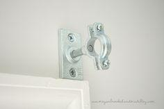 DIY Curtain Rod: Plumbing Fixtures