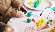 Wouldn't it be great if your kiddo could make his/her own toy? With this Electro #Dough Kit, you can now make them mold dough and learn how to use #electronic components in their everyday life.