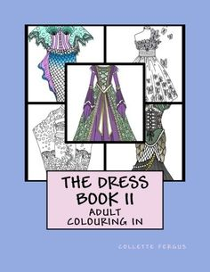 Do you love fashion? Then this series of fashion books is just for you! Pretty dress designs for the fashionista to color! Bring out the inner designer in you w Free Coloring, Adult Coloring, Coloring Books, Colouring, Best Fashion Books, Love Fashion, Winter Fashion, Beautiful Dress Designs, Printable Coloring
