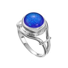 """Kameleon Jewelry - the center stone is one that can """"Pop"""" out and be replaced with a different stone.  These are great for traveling, have one ring with several stones for the colors you are traveling with in your clothes (Peggy Mooney)"""