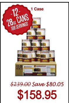 Ozark Foods Canned Meat