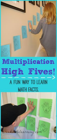 Multiplication games for learning math facts in a fun way! | Creekside Learning