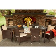 Front Gardens, Dining Sets, Beige Cushions, House, Brown, Outdoor  Furniture, Indoor Outdoor, Free Delivery, Patios