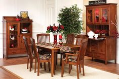 You Can Design the Perfect Dining Room Collection for Your Home! Hardwood Furniture, Living Furniture, Bedroom Furniture, Dining Room, Dining Table, Can Design, American Made, Table Settings, Woodworking