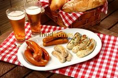 german food for oktober fest   Oktoberfest Promotion on German Sausages   Mudframes Photography