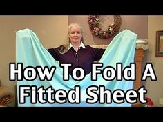 Watch: This Video Will Show You How to Fold a Fitted Sheet