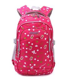 Candy Color Primary School Backpack for Female Mei Red  - Click image twice for more info - See a larger selection of Girls teen  backpacks at http://kidsbackpackstore.com/product-category/girls-teen-backpacks/- kids, juniors, back to school, kids fashion ideas, teens fashion ideas,  school supplies, backpack, bag , teenagers,  boys, gift ideas