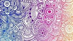 zentangle patterns flowers color - Buscar con Google