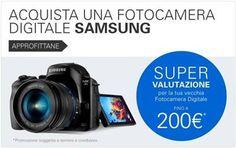Non so se condividere con voi quest'occasione :D  Supervalutazione su #eBay per una nuova fotocamera #Samsung!#ad