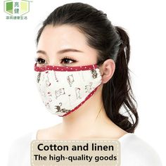 Faithful 1pcs Fashion Face Mouth Mask Anti Dust Filter Windproof Mouth-muffle Bacteria Proof Flu Care Reusable Women's Masks