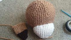 Crochet Lion - Head