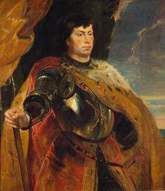 Portrait of Charles the Bold, Duke of Burgundy by Peter Paul Rubens