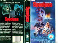Spookies 1986 Rare OOP 80s Horror VHS
