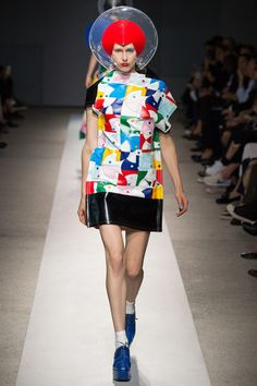 Junya Watanabe Spring 2015. See the whole collection on Vogue.com.