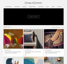 web oficial de Charlie Choices. Lo genial de Charlie es que con su web vas a tener TODOS los productos innovadores del país en un solo lugar y ordenados por categoría!