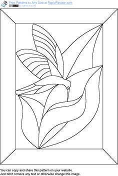 free stained glass patterns - Buscar con Google