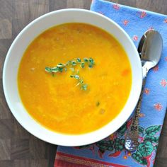 Comfort in a bowl - Winter Squash and Gruyère Soup