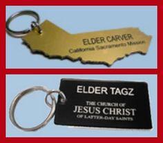 Missionary keychain! None of the options are more than $10! @Tonya Seemann Seemann Seemann Christensen