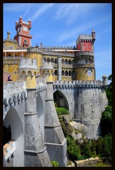 Palace of Sintra in Portugal  By: John Nell